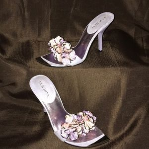 Luichiny stilettos Flower beaded shoes